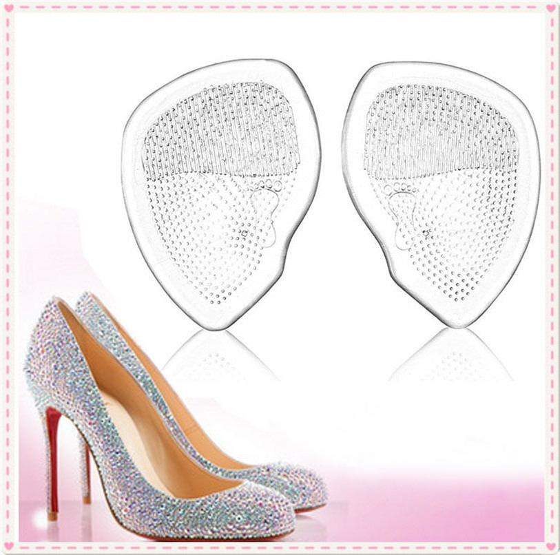 Gel-Forefoot-Silicone-Shoe-Pad-Insoles-High-Heel-Elastic-Cushion-Comfy-Foot-Care