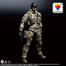 DIWEINI Play Arts Kai SQUARE ENIX PRODUTS Medal of Honor soldier UND ZEROES PA 25cm PVC Action Figure Doll Toys Kids Brinquedos