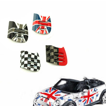 DSYCAR 1Pair Car Styling British Style Car Interior Air Conditioner Outlet Vent Decoration For BMW Mini Cooper F56/F55