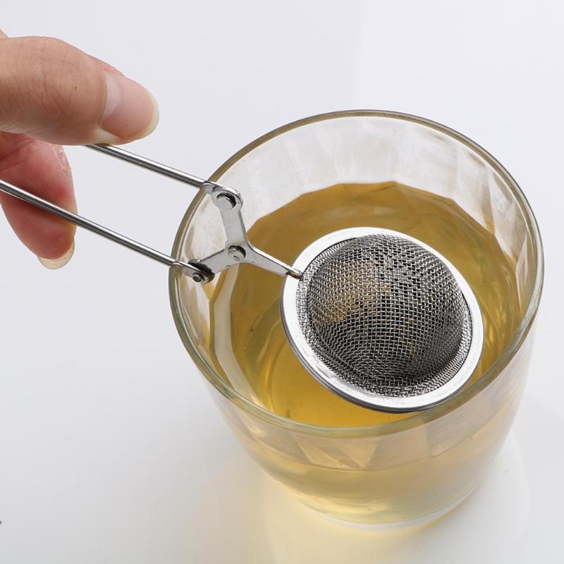 2 unidades//paquete Colador de acero inoxidable para hojas de t/é sueltas iNeibo Infusor de t/é tetera de malla extrafina premium para cafetera de taza individual hierbas o especias
