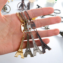 2018 New game M16 Novelty Items Eiffel Tower Keychain pendant Trinket M4A1 Sniper Key Chain 10 styles Jewelry Souvenirs Gift Men(China)