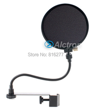 Alctron MA201 Microphone POP filter double nylon mesh BOP cover