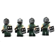 Correctional Services swat gun police military tactical lepin model weapons accessories lepin mini figures original Block toy