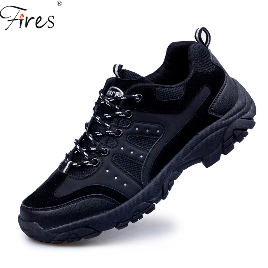Winter outdoor sport hiking shoes men hunting trekking waterproof genuine leather outventure trail Man sneakers shoes zapatos<br>