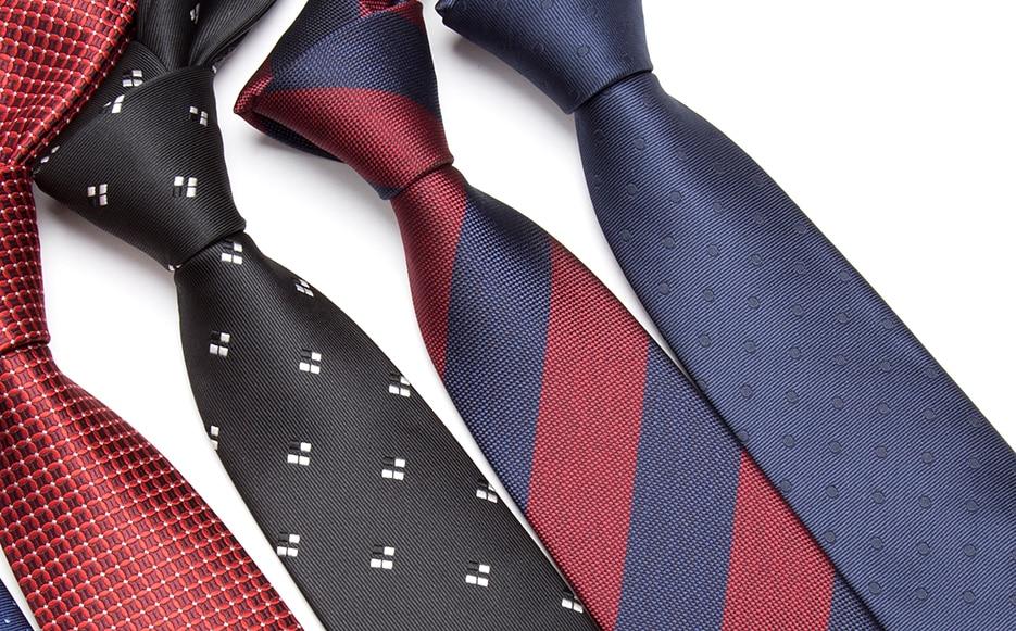 New Men Dot Neckties Formal Business Tie Silk Skinny Narrow Necktie Fashion Gift