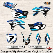 WR YZ YZF 125 250 400 450  Team Graphics Backgrounds Decals Stickers MYR Motor cross Motorcycle Dirt Bike MX Racing Parts