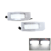 Car Styling Brand New Led Number License Plate Lights Lamp For Mitsubishi ASX Xenon White Auto Vehicles Rear Tail Lamps