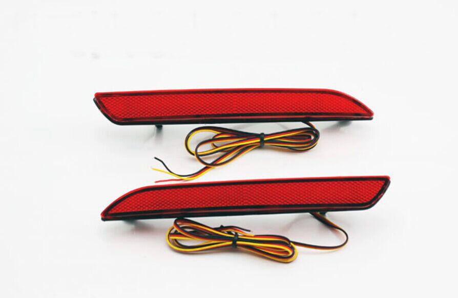 2X 5W for STEPWGN RG LED red  Lamp Rear Bumper Reflector Light DC 12V Parking warning Car Styling Stop Brake<br><br>Aliexpress