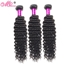 Mshere Hair 100% Indian Curly Weave Human Hair Remy Hair Extentions Indian Hair Bundles Natural Black Can Be Dyed And Bleached