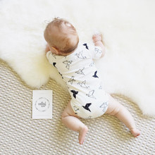 Baby Bodysuits Newborn Clothes Body Bebe Short Sleeve Bodysuites Summer Infant Jumpsuit Girl 4PCS Next Baby Clothes(China)
