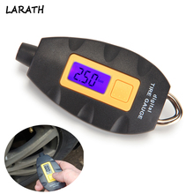 New Digital Auto Wheel Tire Tyre Air Pressure Gauge Tester Meter Tool Vehicle Motorcycle Car 3-100 PSI KPA BAR Diagnostic Tools(China)