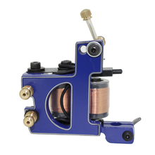 Free Shipping! Hot Professional Handmade Tattoo Machine Retail or Wholesale 10 Wrap Coils Machine 1100255