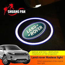Buy 2Pcs LED Car Door Welcome Laser Projector Logo Door Ghost Shadow Light Land Rover freelander 2 Range Rover Evoque Discovery4 for $7.20 in AliExpress store