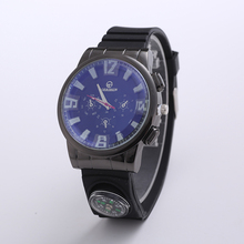 Geridun Top Brand Luxury Mens Watches Fashion Casual Sport Wristwatch Compass Clock Army Military Relogio Masculino
