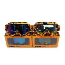 KTM brand Motocross goggles ATV DH MTB Dirt Bike Glasses Oculos Antiparras Gafas motocross Sunglasses Use For Motorcycle Helmet(China)