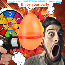 Russian Roulette Model Balloon Gun Balloon Roulette Challenge Party Water Balloon Game Geeky Gadgets