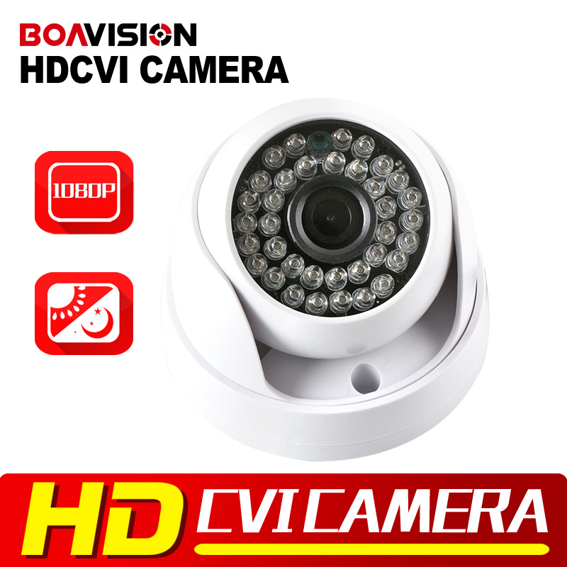 Dome 2MP HDCVI Camera 1080P Indoor Use Real-time 3.6MM Lens CCTV Surveillance Security Camera HD CVI Dome Cam Plastic Housing<br><br>Aliexpress