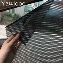 2pcs/lot 42*38cm Uv Sticker Car Sunshade Electrostatic Stickers Auto Static Film Adsorption Force Sunshade Stickers Car Styling