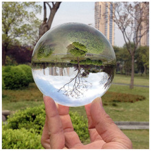 Hot Sell Magic Photography Crystal Ball Quartz FengShui Glass Crystals Craft Travel Take Pictures Table Decor Home Decors(China)