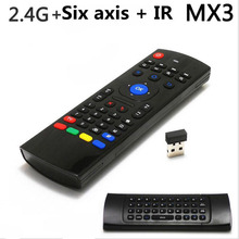 High qaulity New upgrade 2.4G wireless remote control mouse and keyboard squirrel mouse computer TV free shipping