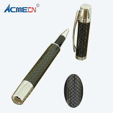 ACMECN Hot Sale High Quality Full Carbon Fiber water Pen Gifts Office & Business Stationery Liquid ink Signature Rollerball Pen(China)