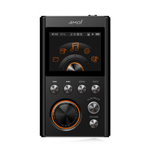 Amoi HIFI MP3 Player Upgraded Version DSD64 Decoding Lossless High Quality Music player DAC WM8965 Support TF Card(China)