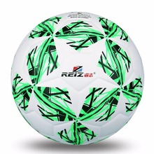 REIZ Synthetic Leather Football Official Size 4 Soccer Ball Five-pointed Star Decorative Pattern Outdoor Match Training Ball Hot(China)