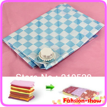 3pcs Space Saver Storage Seal Vacuum Bags Compress 60 X 80cm can store 8~15pcs sweaters good quality