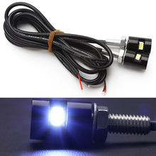 Buy Universal Styling 12V SMD 5630 New Screw Bolt Light Tail Number Car Auto Motorcycle 2pcs/lot White LED License Plate lamp for $1.57 in AliExpress store