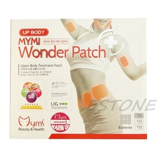 24pcs Wonder Slimming Patches Belly Arm Leg Fat Lose Body Exercise Patch(China)
