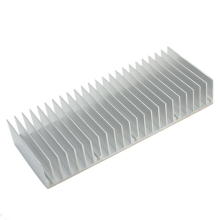 Silver 150x60x25mm 24 Teech Aluminum Fin Heat Sink Radiator Heatsink for Projector LED Power Car Amplifier IC heat dissipation