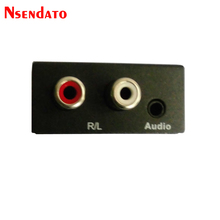 Digital to Analog Audio Converter Adapter Digital Adaptador Optic Coaxial RCA Optical Signal to Analog Audio Converter RCA