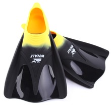 Whale brand Professional swimming fins For man woman foot flipper Swimming equipment  with 2 color FN-700