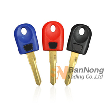 3XPCS Single Trough key For DUCATI Monster 696 600 748 848 999 1098 800 900 620 Motorcycle Blank Key Embryo Uncut Blade(China)