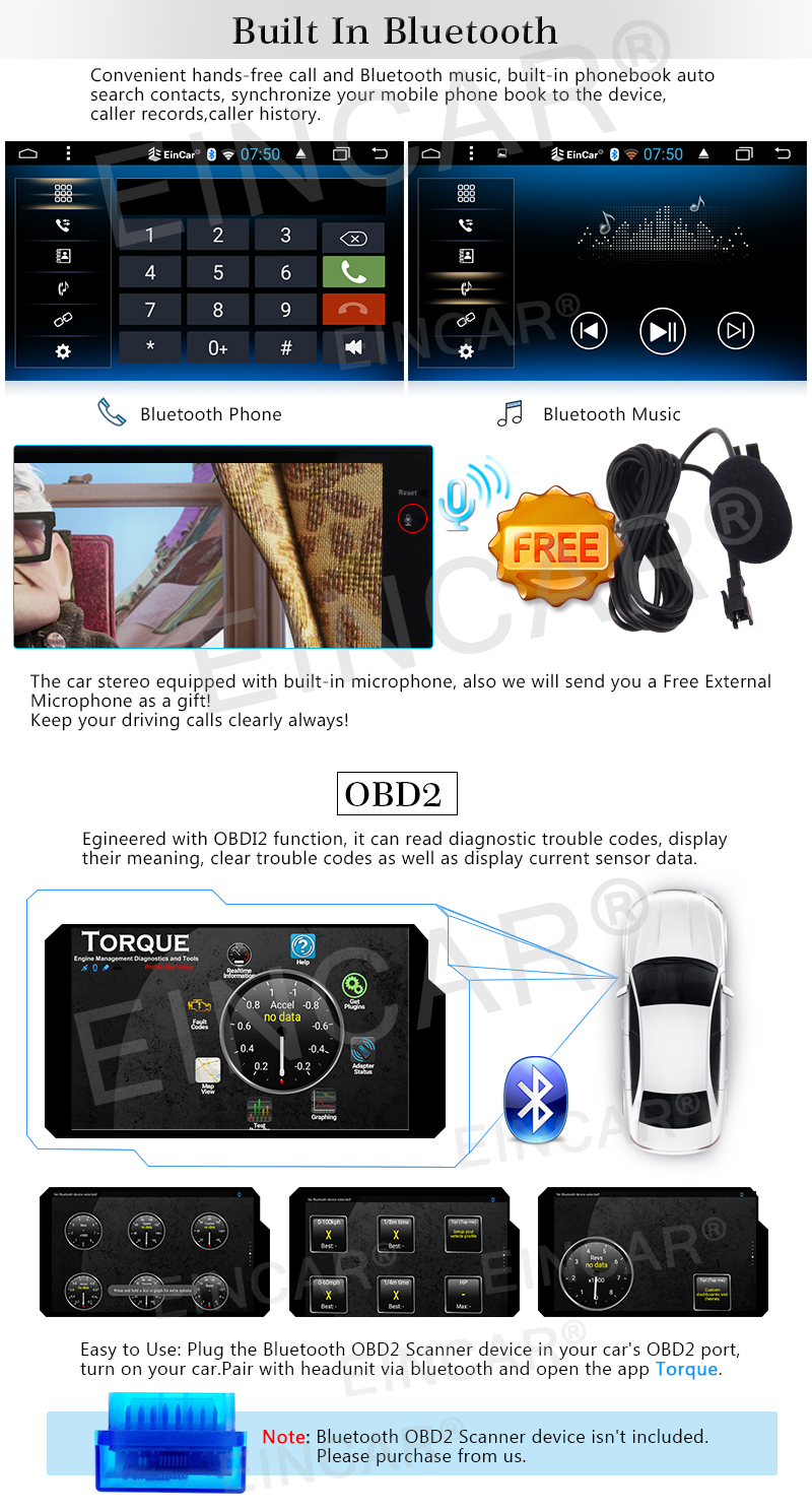 "7""Android 6.0 Quad Core Car Stereo Autoradio In Dash map GPS Navigation 2Din Receiver Support Bluetooth/WiFi/OBD2+Backup Camera"