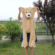 100cm The American Giant Bear Hull Teddy Bear Skin High Quality Low Price Popular Birthday Gifts For Girls Kid's Toy