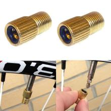 Buy 2PCS NEW Bicycle Presta Schrader Valve Adapter Converter Road Bike Pump Tube Bicycle Valve for $1.18 in AliExpress store