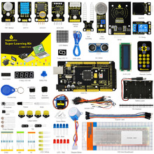 Keyestudio Super Starter Kit/Learning Kit for Arduino Starter Kit With Mega2560R3/LCD1602/RFID/Relay/DS3231 +PDF+32Projets &STEM(China)