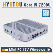 Kaby Lake Core i5 7200U Mini PC Windows i3 7100U HDMI+VGA Mini PC i3 i5 minipc 4K HTPC Intel HD Graphics 620 Micro PC Windows 10