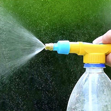 Mini Juice Bottles Interface Plastic Trolley Gun Sprayer Head Water Pressure Mini Sprayer Garden Supply