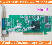 Free Shipping Original forMac G3 G4 G5 graphic card ATI Radeon 7000 64MB AGP Video Card VGA 2X /4X/ 8X