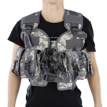 Tactical Vest Camouflage Cool Hunting Vest Outdoor Training Military Army Swat Vest Waistcoat Military equipment