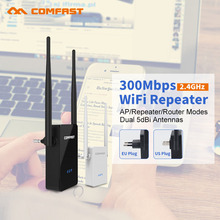 COMFAST cf-wr302sv2 Wireless WIFI Repeater 300Mbps WiFi Signal Amplifier extender home use router Strength wi fi Booster(China)