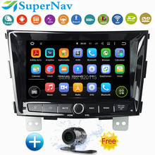 "Quad Core 8"" 1024*600 Android 5.1.1 Car Multimedia DVD Player Radio Stereo PC For Ssang Yong Tivolan with Radio DVD GPS free map"