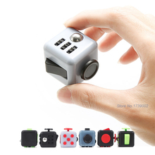 the fidget cube toys figure massage dice fidget anti stress antistress reliever magic squeeze fun toys(China)