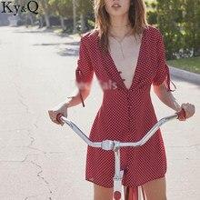 textura clara a pies en buen servicio Vintage Rojo Vestido Con Puntos Blancos - Compra lotes ...