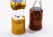 BXL-G85Z 2016 6W Newest Design Solar LED Camping lantern Ultra Bright For Emergency/Hurricanes/Storm Light Weight(China)