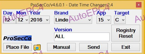 Linde/Jungheinrich/Still/Liebherr/Widos/Valtra/Clark - ProSecCo Date and Time Changer 2015 v2.4 UNLOCK<br><br>Aliexpress