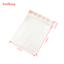 10pcs 180*150MM Pearl Film Bubble Envelope Courier Bags Waterproof White Mailing Bag Packaging