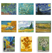 Canvas Painting HD Print Famous Abstract Oil Painting Van Gogh Picasso Claude Monet Landscape Wall Art Picture Living Room Decor